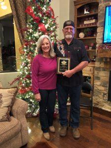 Warren & Wendy St. John, 2017 Service To Mankind Award winners.