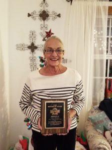 22018 Sertoman of the Year, Mary Thomas.