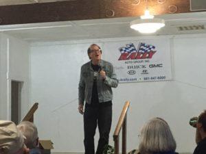 Comedian Randy Lubas