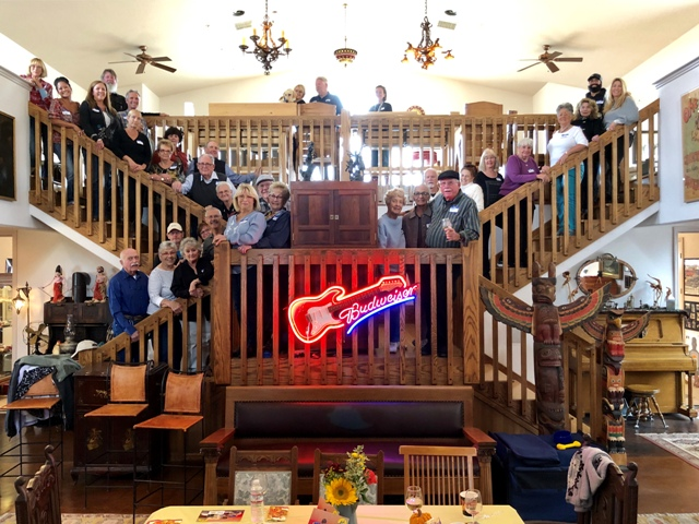Members of the Leona Valley Sertoma, sponsors, and guests group shot.