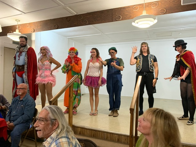 The Murder Mystery Cast of the Cirque du Foul Play.
